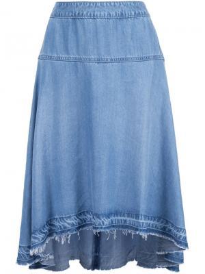Юбка  Abigail Long Joes Jeans Joe's. Цвет: синий