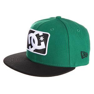 Бейсболка New Era детская DC Buzzcut By Hats Kelly Green Shoes. Цвет: зеленый,черный