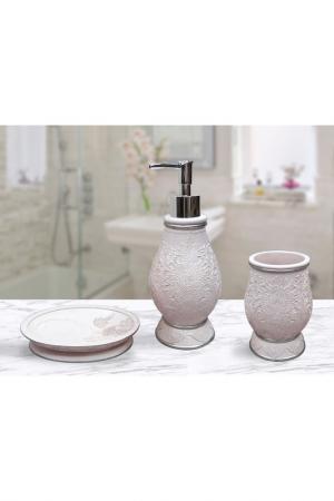 Набор для ванной Sofi De Marko. Цвет: розовый