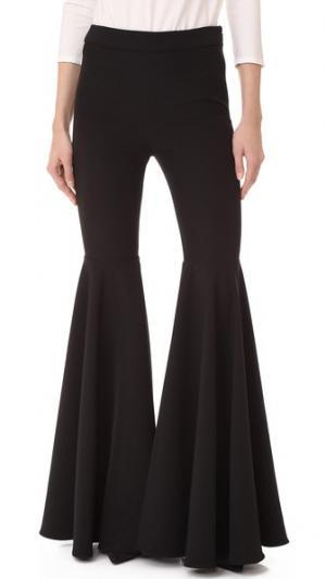 Расклешенные брюки Cady Milly. Цвет: голубой