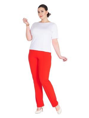 Брюки Darissa Fashion. Цвет: красный