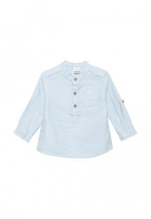 Рубашка LC Waikiki. Цвет: голубой