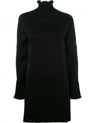 Платье с рюшами Iro. Цвет: чёрный