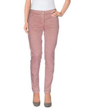 Повседневные брюки STIV19. Цвет: пастельно-розовый