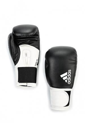 Перчатки боксерские adidas Combat. Цвет: черно-белый