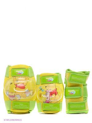 Комплект защиты Винни Пух Disney. Цвет: желтый, салатовый