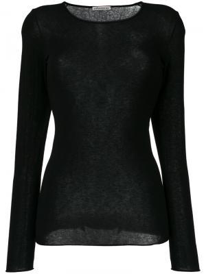 Long-sleeved top Stefano Mortari. Цвет: чёрный