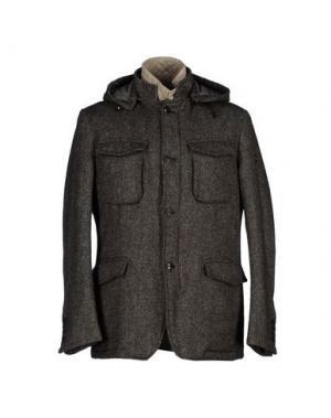 Куртка CALVARESI. Цвет: стальной серый