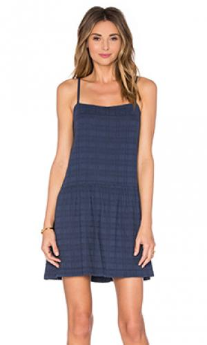 Платье maybelle LACAUSA. Цвет: синий