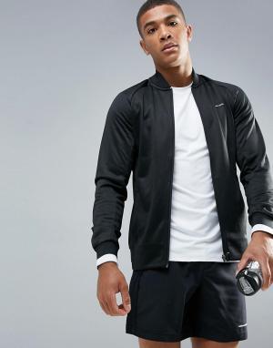 Bjorn Borg Черная спортивная куртка Performance. Цвет: черный