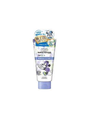 Очищающий крем для лица с разглаживающим эффектом Kose Cosmeport Natu Savon 130 г.. Цвет: фиолетовый