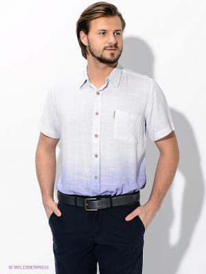 Рубашка Maestro. Цвет: фиолетовый, белый