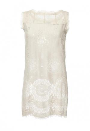 Платье Tantra. Цвет: бежевый