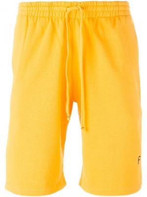 Шорты Squash Futur. Цвет: жёлтый и оранжевый