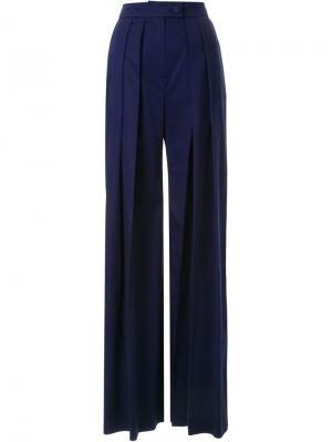 Широкие брюки Martin Grant. Цвет: чёрный