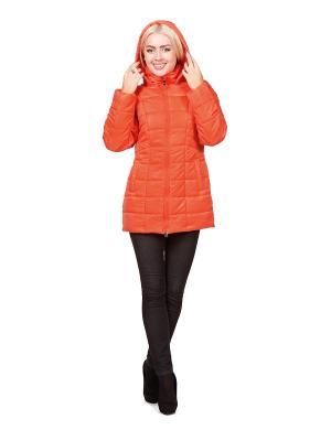 Пальто ROSSO-STYLE. Цвет: оранжевый