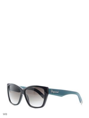 Солнцезащитные очки DQ 0085 05B Dsquared2. Цвет: черный, зеленый