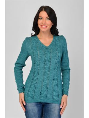 Пуловер Maria Velada. Цвет: бирюзовый