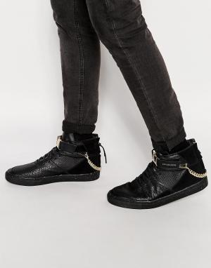 Cayler & Sons Высокие кроссовки Hamachi. Цвет: черный