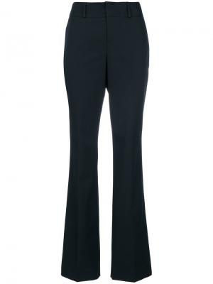 Расклешенные брюки кроя слим Marni. Цвет: синий