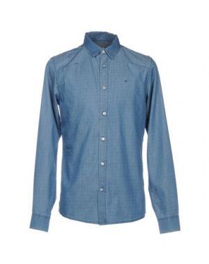 Джинсовая рубашка CALVIN KLEIN JEANS. Цвет: синий