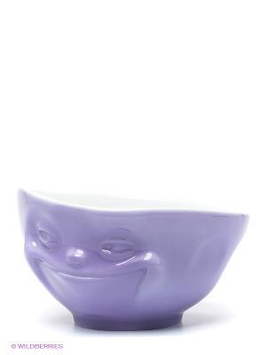 Пиала/МИМИКА: УЛЫБОЧКА/фиолетовый Tassen. Цвет: сиреневый, белый