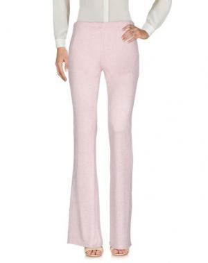Повседневные брюки CHARLOTT. Цвет: розовый
