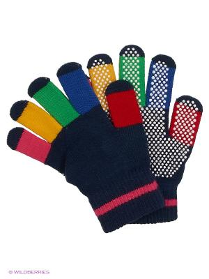 Перчатки MAXIMO. Цвет: розовый, синий