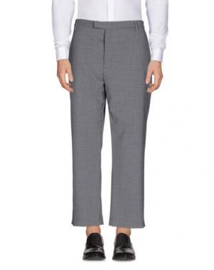Повседневные брюки MATTHEW MILLER. Цвет: серый