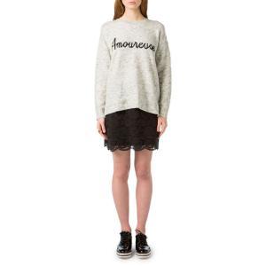 Пуловер с круглым вырезом из тонкого трикотажа BEST MOUNTAIN. Цвет: светло-серый