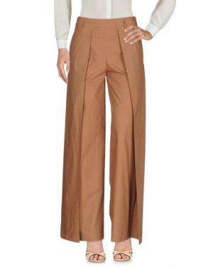 Повседневные брюки ULTRA'CHIC. Цвет: хаки