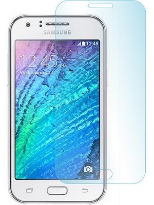 Защитное стекло для Samsung J1 (2015) 3G DS skinBOX. Цвет: прозрачный