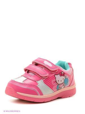 Ботинки Hello Kitty. Цвет: фуксия, розовый
