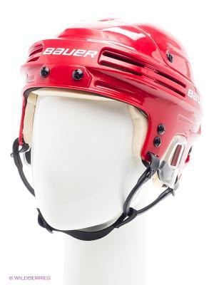Шлем BAUER 4500 Взрослый. Цвет: красный