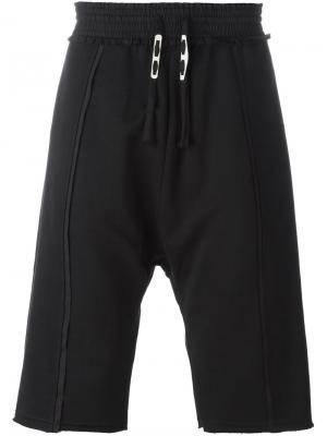 Спортивные шорты Parini Damir Doma. Цвет: чёрный
