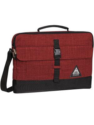 Сумка для ноутбука RUCK SLIM CASE 15 Ogio. Цвет: черный, бордовый