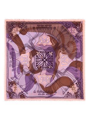 Платок Eleganzza. Цвет: коричневый, сиреневый, фиолетовый