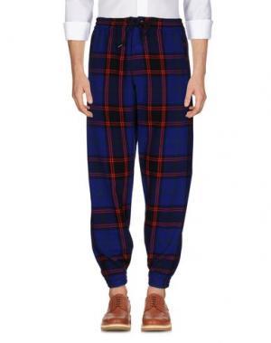 Повседневные брюки JOYRICH. Цвет: синий