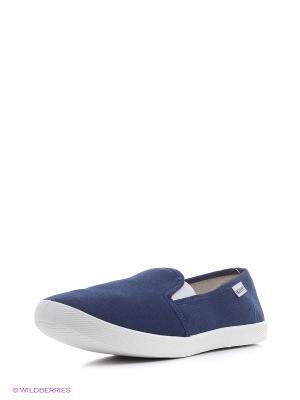 Обувь повседневная женская DOMINO. Цвет: синий