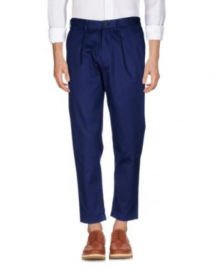 Повседневные брюки COVERT. Цвет: синий