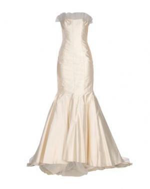 Длинное платье CAILAN'D. Цвет: слоновая кость
