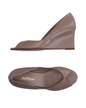 Туфли AVRIL GAU. Цвет: песочный