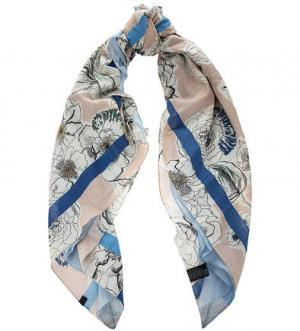Двусторонний платок с цветочным принтом Marc O'Polo. Цвет: цветочный принт