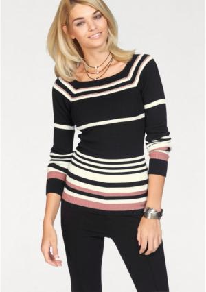 Пуловер Laura Scott. Цвет: в полоску