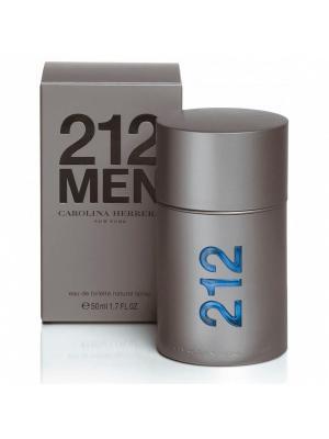 Carolina Herrera 212 men edt 50 ml. Цвет: серый