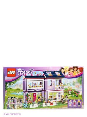 Конструктор Подружки Дом Эммы номер модели 41095 LEGO. Цвет: фиолетовый, белый, зеленый