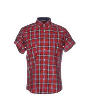 Pубашка FORECAST. Цвет: красный