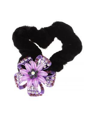 Резинка Migura. Цвет: черный, фиолетовый