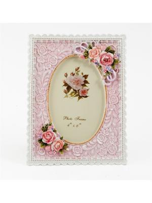 Фоторамка для фото Русские подарки. Цвет: розовый, кремовый, персиковый