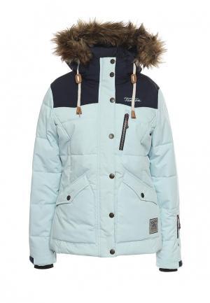 Куртка горнолыжная Tenson. Цвет: голубой